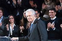 Monti: discorso agli elettori