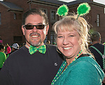 Gary and Tisha Schaible during the 5th annual Leprechaun Run in Reno on Sunday, March 12, 2017.