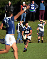 Action from the Auckland premier club rugby match between University and College Rifles at Colin Maiden Park in Auckland, New Zealand on Saturday, 8 July 2017. Photo: Dave Lintott / lintottphoto.co.nz