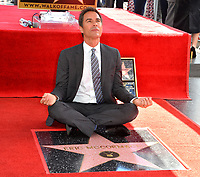"""LOS ANGELES, CA. September 13, 2018: Eric McCormack at the Hollywood Walk of Fame Star Ceremony honoring """"Will & Grace"""" star Eric McCormack."""