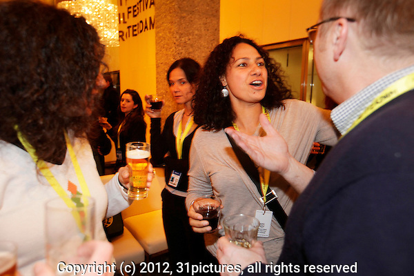 The Netherlands, Rotterdam, 31 January 2012. The International Film Festival Rotterdam 2012. Cinemart Drink at De Doelen. Photo: 31pictures.nl / (c) 2012, www.31pictures.nl Copyright and ownership by photographer. FOR IFFR USE ONLY. Not to be (re-)distributed in any form. Copyright and ownership by photographer. FOR IFFR USE ONLY. Not to be (re-)distributed in any form.
