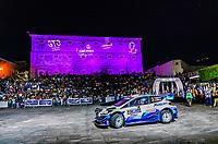 13th March 2020, Guanajuato, Mexico; WRC Rally of Mexico;   Teemu Suninen FIN and Jarmo Lehtinen FIN - Ford Fiesta WRC