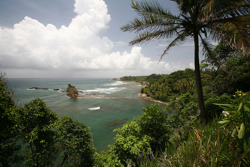 Oceanscape near Portsmouth, Dominica