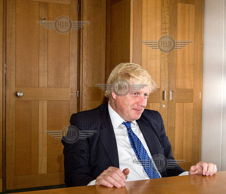 Boris Johnson, at the time of photograph he was Mayor of London.