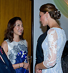 """CATHERINE, DUCHESS OF CAMBRIDGE AND PRINCE WILLIAM.attend High Commission Reception, Kuala Lumpur_14/09/2012.The Duchess covered her head with a traditional head scarf.Mandatory credit photo: ©Dias/DIASIMAGES..(Failure to credit will incur a surcharge of 100% of reproduction fees)..                **ALL FEES PAYABLE TO: """"NEWSPIX INTERNATIONAL""""**..IMMEDIATE CONFIRMATION OF USAGE REQUIRED:.DiasImages, 31a Chinnery Hill, Bishop's Stortford, ENGLAND CM23 3PS.Tel:+441279 324672  ; Fax: +441279656877.Mobile:  07775681153.e-mail: info@newspixinternational.co.uk"""