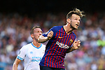 UEFA Champions League 2018/2019 - Matchday 1.<br /> FC Barcelona vs PSV Eindhoven: 4-0.<br /> Ivan Rakitic.