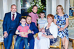 Little Ronan Murphy Faha son of Liam and Margaret Murphy celebrated his christening with his big brothers Stevie, Donncha and Adam and godparents Fiona McCormack and Paul Clancy in the Malton Hotel Killarney on Saturday