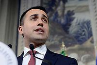 Di Maio e Salvini al Quirinale con nome del Premier