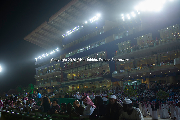 RIYADH,SAUDI ARABIA-FEB 29: Track scene at King Abdulaziz Racetrack on February 29,2020 in Riyadh,Saudi Arabia. Kaz Ishida/Eclipse Sportswire/CSM