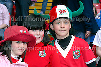 Millennium stadium, Cardiff, Wales. Saturday 26th March 2011 - Wales v England Euro 2012 qualifier - action from the Wales v England Euro 2012 qualifier football match - all images are the copyright of Jeff Thomas Photography - www.jaypics.photoshelter.com - 07837 386244 - no copying of downloading of images is permitted.