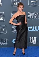 SANTA MONICA, USA. January 12, 2020: Renee Zellweger at the 25th Annual Critics' Choice Awards at the Barker Hangar, Santa Monica.<br /> Picture: Paul Smith/Featureflash