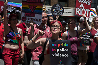 NEW YORK, NY - JUNE 25: A general view of atmosphere during the 2017 New York City Pride March on June 25, 2017 in New York City. (Photo by Joana Toro/VIEWPress/Corbis via Getty Images)