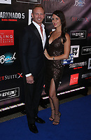 06 August 2017 - Las Vegas, NV -  Ian Ziering, Erin Kristine Ludwig.  Sharknado 5 Global Swarming red carpet premiere at Linq Hotel and Casino. Photo Credit: MJT/AdMedia