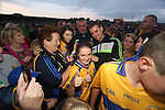 Clare Hurling fan Finia O Brien pictured at  the Open Training Night on Tuesday. Pic. Brian Arthur/ Press 22.