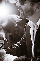 Singer/Songwriter/Musician Dave Stewart during a book signing in Las Vegas