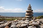 Coast near Drumadoom Point in the Isle of Arran, Scotland