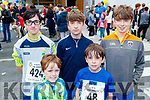 Jack O'Connor, Evan, Luke, Ray and Aidan Horgan, all who took part in CBS, The Green fun run on Sunday last.