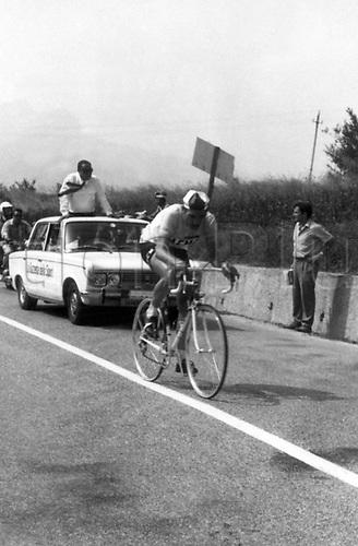 07.05.1968  Eddy Merckx (Belgium / Faema) -  Giro d Italia 1968,  16thstage, Cesenatico - San Marino