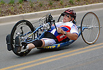 May 28, 2012: Wounded Warrior Dennis Clark competes in the 2012 U.S. Handcycling National Championships, Greenville, SC.