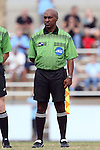 25 October 2015: Assistant Referee David McPhun. The University of North Carolina Tar Heels hosted the Clemson University Tigers at Fetzer Field in Chapel Hill, NC in a 2015 NCAA Division I Women's Soccer game. UNC won the game 1-0.