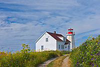 Lighthouse on Île aux Perroquets<br />