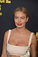 Lara Bingle at the premiere of &quot;Sabotage&quot; at Regal Cinemas L.A. Live.<br /> March 19, 2014  Los Angeles, CA<br /> Picture: Paul Smith / Featureflash