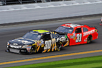 James Buescher (#30) and Justin Allgaier (#31)