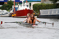 W.J15A.2x  Semi  (81) City of Bristol RC (Wallis) vs (83) Worcester<br /> <br /> Saturday - Gloucester Regatta 2016<br /> <br /> To purchase this photo, or to see pricing information for Prints and Downloads, click the blue 'Add to Cart' button at the top-right of the page.