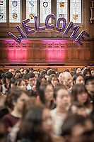The University of Manchester - Whitworth Hall Welcome Events