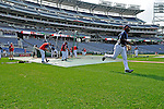 21 June 2008: The Washington Nationals take batting practice prior to a game against the Texas Rangers at Nationals Park in Washington, DC. The Nationals fell to the Rangers 13-3 in the second game of their 3-game inter-league series...Mandatory Photo Credit: Ed Wolfstein Photo