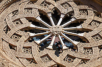 Rose window - Trapani Sicily
