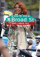 PHILADELPHIA, PA - JULY 2 :Patti LaBelle pictured at Patti LaBelle Way street dedication Center City Philadelphia, Pa July 2, 2019 <br /> CAP/MPI09<br /> ©MPI09/Capital Pictures