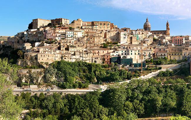 hill town of  Ragusa Ibla, Sicily