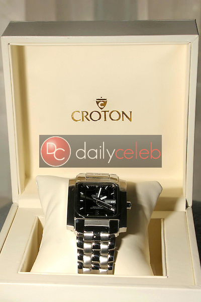 """Croton Watches<br />at the 1st Annual """"Sober Day USA"""" Gift Bag Photo Shoot of donations by M.B. York, Croton, Ed Hardy, Tag Jeans and Claridges. Standard Hotel Hollywood, West Hollywood, CA. 05-01-06<br />Dave Edwards/DailyCeleb.com 818-249-4998"""