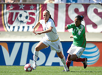 Lauren Cheney drives towards goal. .USA 3-0 over Mexico in San Diego, California, Sunday, March 28, 2010.