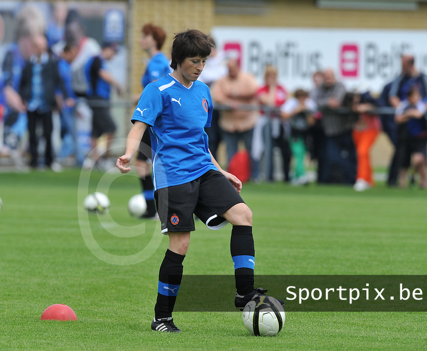 eerste training Club Brugge Dames : Ingrid De Ryke.foto DAVID CATRY / Vrouwenteam.be