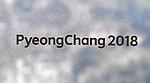 Pyeongchang2018 signage. Opening Ceremony. Pyeongchang2018 winter Olympics. Olympic stadium. Pyeongchang. Republic of Korea. 09/02/2018. ~ MANDATORY CREDIT Garry Bowden/SIPPA - NO UNAUTHORISED USE - +44 7837 394578