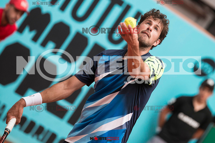 Dutch Robin Haase during Mutua Madrid Open Tennis 2017 at Caja Magica in Madrid, May 10, 2017. Spain.<br /> (ALTERPHOTOS/BorjaB.Hojas) /NortePhoto.com **NortePhoto.com