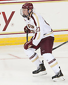 Patrick Brown (BC - 23) - The Boston College Eagles defeated the visiting St. Francis Xavier University X-Men 8-2 in an exhibition game on Sunday, October 6, 2013, at Kelley Rink in Conte Forum in Chestnut Hill, Massachusetts.