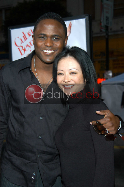 Wayne Brady and wife Mandie