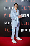 Omar Ayuso attends to 'Elite' premiere at Museo Reina Sofia in Madrid, Spain. October 02, 2018. (ALTERPHOTOS/A. Perez Meca)