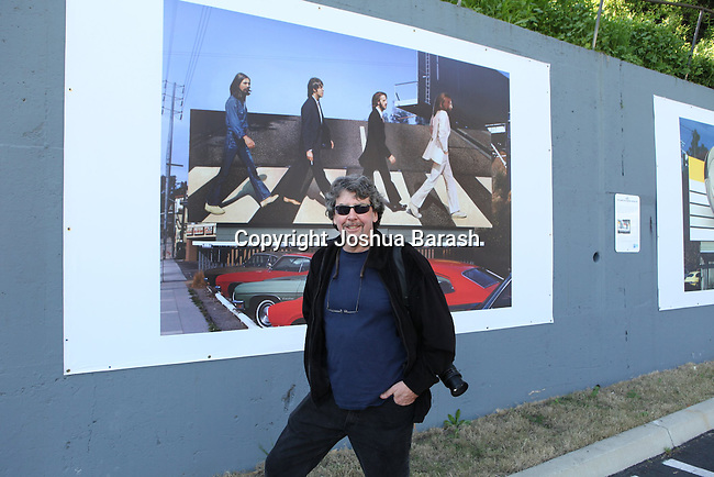 City of West Hollywood. Rock 'N' Roll Billboards on the Sunset strip. Exhibit. Photo credit: Joshua Barash