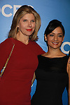 The Good Wife, Christine Baranski, Archie Panjabi  - CBS Upfront 2012 at the Tent in Lincoln Center, New York City, New York. (Photo by Sue Coflin/Max Photos)