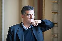 Giorgio può essere annoverato fra quegli autori delle ultime generazioni che guardano con occhi particolarmente illuminati alla realtà che ci circonda. Como, 7 ottobre 2017. © Leonardo Cendamo