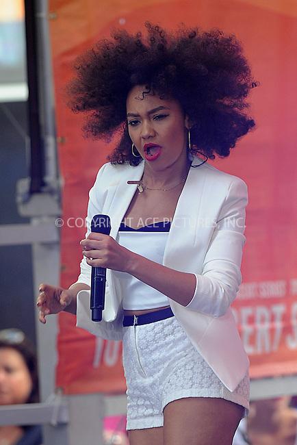 WWW.ACEPIXS.COM . . . . . <br /> June 17, 2014...New York City<br /> <br /> Little Mix performing on NBC Today in Rockefeller Plaza on June17, 2014  in New York City. <br /> <br /> Please byline: Kristin Callahan/ACE Pictures WWW.ACEPIXS.COM.. . . . . . ..Ace Pictures, Inc: ..tel: (212) 243 8787 or (646) 769 0430..e-mail: info@acepixs.com..web: http://www.acepixs.com