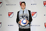 15 January 2015: Connor Hallisey (California) was selected tenth overall by Sporting Kansas City. The 2015 MLS SuperDraft was held at the Pennsylvania Convention Center in Philadelphia, Pennsylvania.