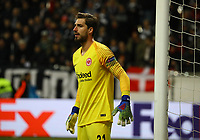 Torwart Kevin Trapp (Eintracht Frankfurt) - 07.03.2019: Eintracht Frankfurt vs. Inter Mailand, UEFA Europa League, Achtelfinale, Commerzbank Arena, DISCLAIMER: DFL regulations prohibit any use of photographs as image sequences and/or quasi-video.