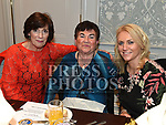 Rose Sullivan, Marie McCullough and Bernie Whelan at the Naomh Mairtin reunion in the Monasterboice Inn. Photo:Colin Bell/pressphotos.ie