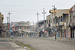 The streets of Qaraqosh, Iraq, a Christian town that was occupied by the Islamic State in 2014 and liberated by the Iraqi army in late 2016, are largely empty these days. Residents have yet to return, citing continued insecurity.