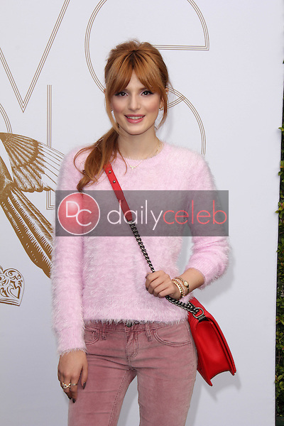 Bella Thorne<br /> at LoveGold Honors Michelle Dockery for a day of gold and glamour, Selma House, Los Angeles, CA 01-09-14<br /> David Edwards/Dailyceleb.com 818-249-4998